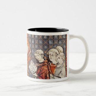 パリの哲学者の教授 ツートーンマグカップ