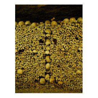パリの地下墓地 ポストカード