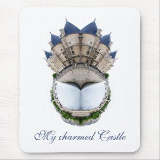 パリの城のリング マウスパッド