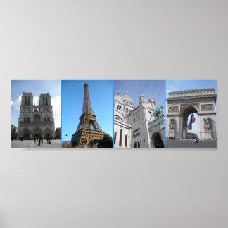 パリの場所 ポスター