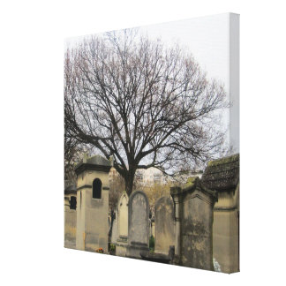 パリの墓地 キャンバスプリント
