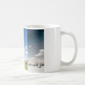 パリの季節の変更 コーヒーマグカップ