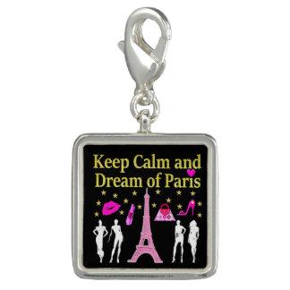 パリの平静そして夢を保って下さい チャーム