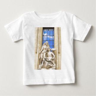 パリの建築 ベビーTシャツ