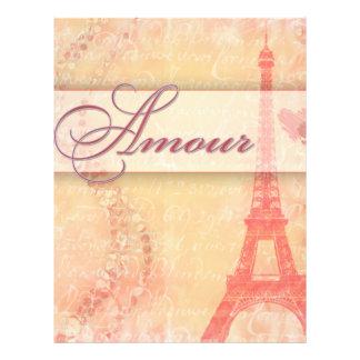 パリの恋愛 チラシ