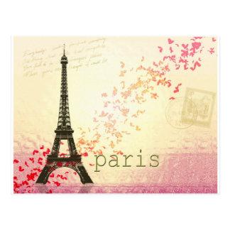 パリの愛 ポストカード