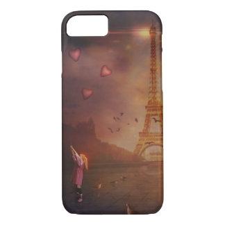 パリの愛 iPhone 8/7ケース