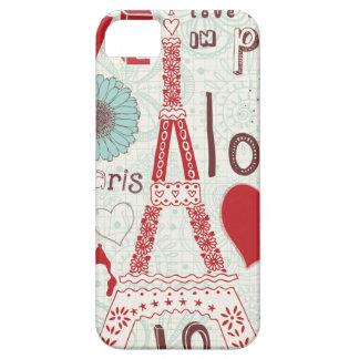 パリの愛 iPhone SE/5/5s ケース