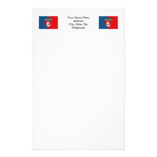 パリの旗 便箋