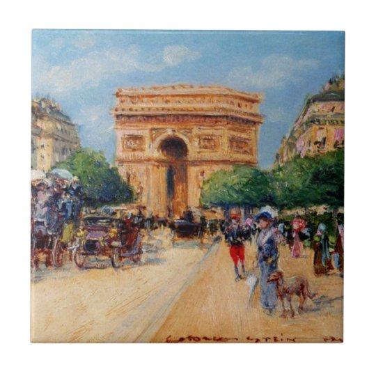 パリの日曜日 タイル