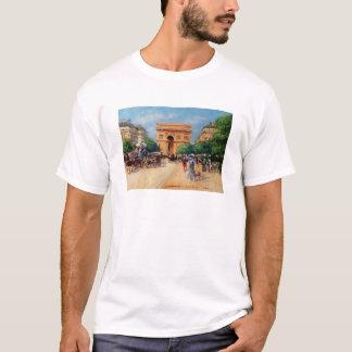 パリの日曜日 Tシャツ