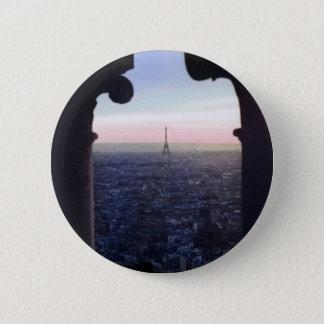 パリの日没ボタン 缶バッジ