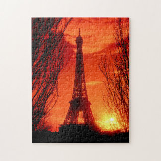 パリの日没 ジグソーパズル