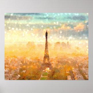 パリの早い朝 ポスター