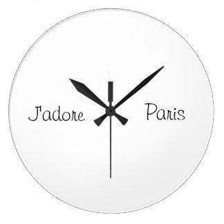 パリの時計 ラージ壁時計