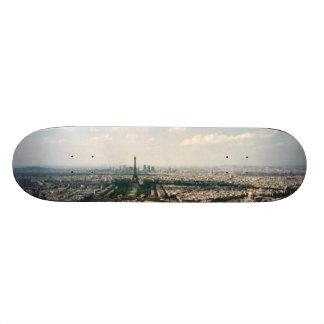 パリの景色 20.6CM スケートボードデッキ