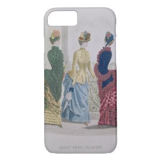 パリの最も最近のファッション、fashの3日間の服 iPhone 8/7ケース