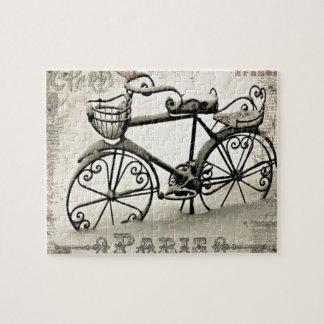 パリの自転車 ジグソーパズル