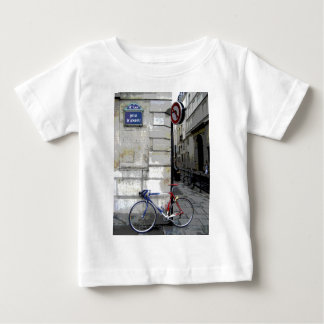 パリの自転車 ベビーTシャツ