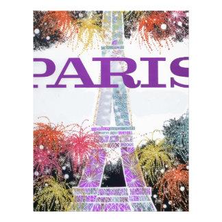 パリの花火 レターヘッド