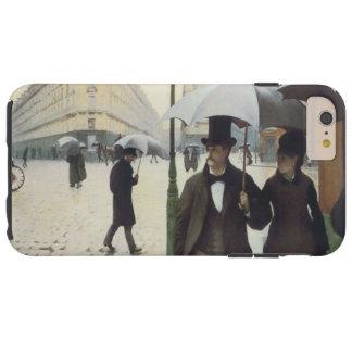 パリの通りの雨の日 TOUGH iPhone 6 PLUS ケース