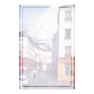 パリの通り 便箋