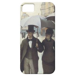 パリの通り、Caillebotteの場合による雨の日 iPhone SE/5/5s ケース