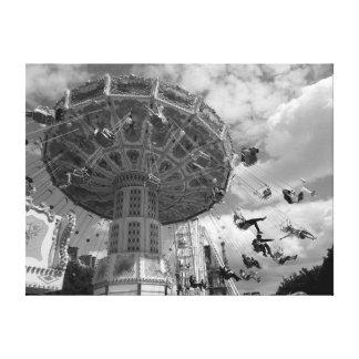 パリの遊園地 キャンバスプリント