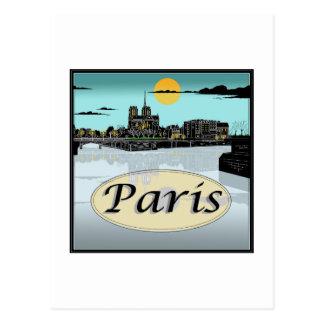 パリの郵便はがき ポストカード