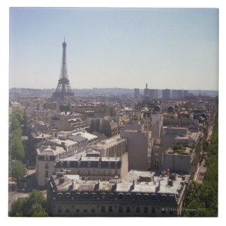 パリの都市景観、パリ、フランス 正方形タイル大