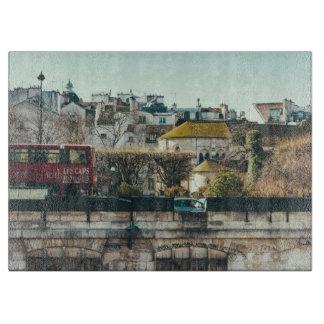 パリの都市景観-古い建物旅行写真撮影 カッティングボード