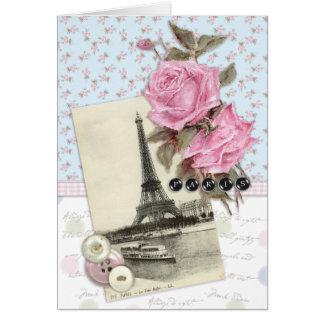 パリの開花 カード