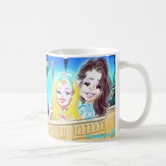 パリの風刺漫画のマグ13a コーヒーマグカップ