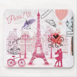 パリの魔法 マウスパッド