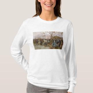 パリの鳥の市場 Tシャツ