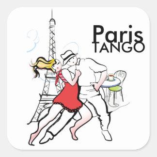パリの2 Tangueros スクエアシール