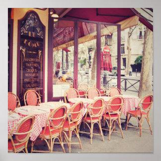 パリのAlのフレスコ画の食事 ポスター