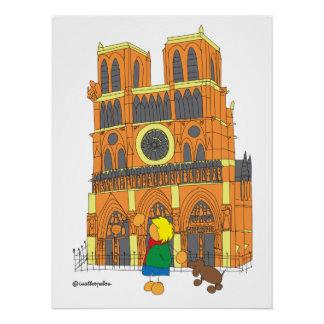パリのEdu ポスター