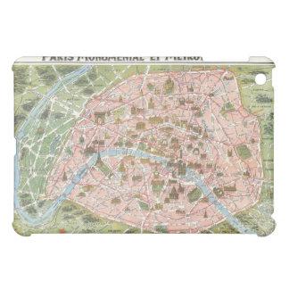パリのiPadの場合の地図 iPad Mini カバー