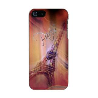 パリのiPhoneの場合 メタリックiPhone SE/5/5sケース