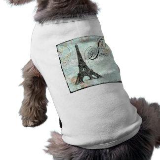 パリのLa旅行のエッフェルのフランス風 ペット服