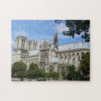 パリのNotre Dameのカテドラル ジグソーパズル