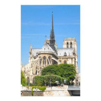 パリのNotre Dame 便箋