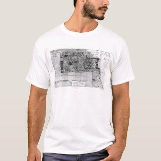 パリのParc Monceauの計画 Tシャツ