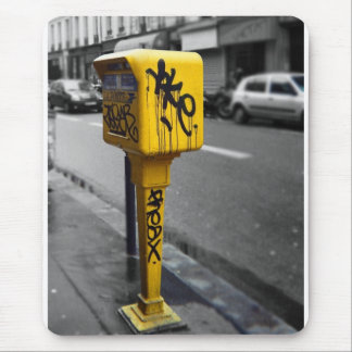 パリのpostbox マウスパッド