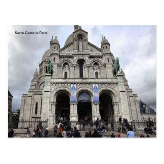 パリのSacre Coeur ポストカード