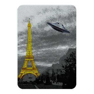 パリのUFO カード