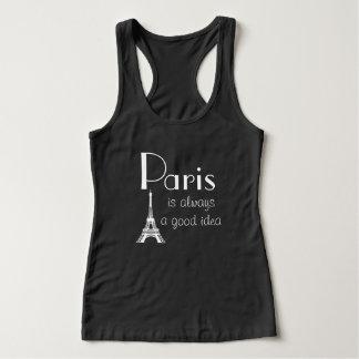 パリはよいアイディアのタンクトップ常にです タンクトップ