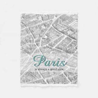 パリはよいアイディア|毛布常にです フリースブランケット