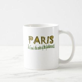 パリは町ファッションの中心です コーヒーマグカップ